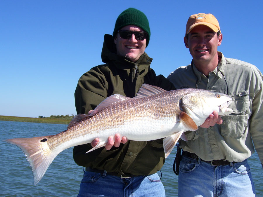 Shorethangcharters with capt mark phelps in shore for Fishing charleston sc